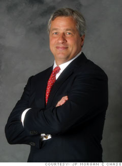 Jamie Dimon, CEO and chairman, JP Morgan Chase