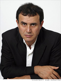 Nouriel Roubini.  Image courtesy of RGE Monitor