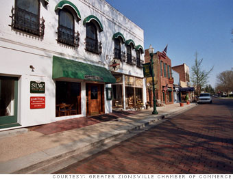 57. Zionsville, Ind.
