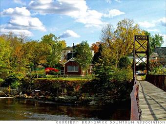 88. Brunswick, Maine