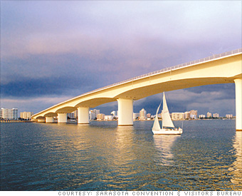 90: Sarasota, Fla.