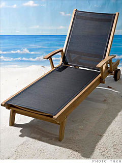 Three Birds' Riviera Lounger