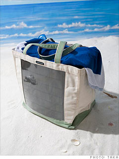 Reware's Solar Beach Bag