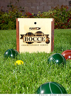 St. Pierre's Bocce Ball Set