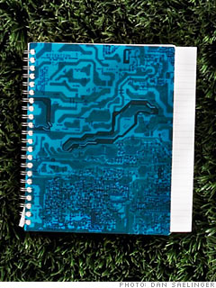 Motherboard Gifts' Large Spiral Journal