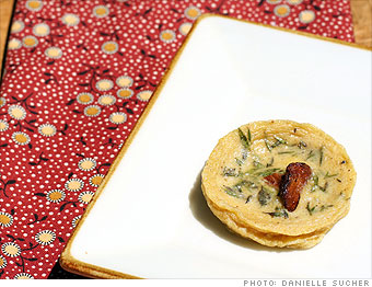 Mini Chanterelle Clafouti