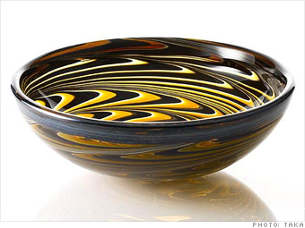 Rubino Glass's Nautilus Sink Bowl