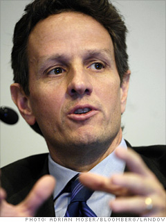 Geithner the Eyebrowless
