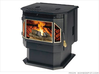 Pellet burning stoves have emerged as a cleaner and more efficient
