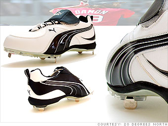 Puma cleats for Johnny Damon