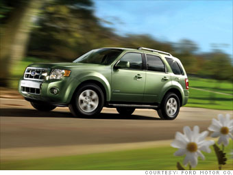 Best American Cars Small Suv Ford Escape Hybrid 5