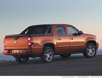 Best American cars - Pick-up: Chevrolet Avalanche (7 ...