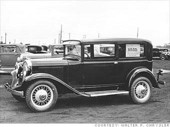 1932 Plymouth PA