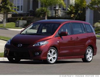 Mazda5 for Dodge Caravan