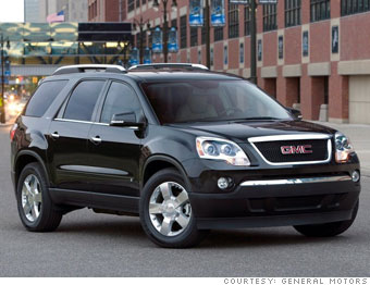 GMC Acadia for GMC Yukon