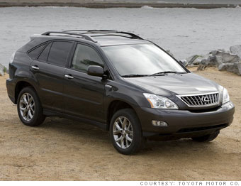 Lexus RX350 for Lincoln Navigator