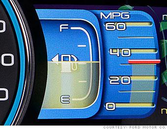 Fuel economy jump