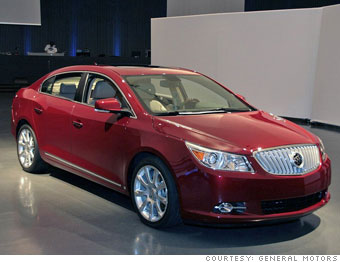Mid-sized car: Buick LaCrosse