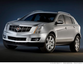 Small crossover No. 3:  Cadillac SRX