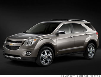 Small crossover No. 1: Chevrolet Equinox