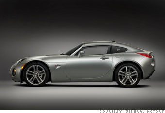 Performance car No. 2:  Pontiac Solstice Coupe