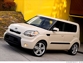 Cool Cars For Less Than Kia Soul CNNMoneycom - Cool inexpensive cars