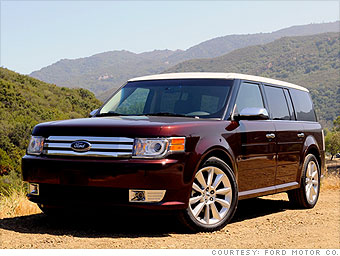 america 39 s best loved cars mid size suv ford flex 13. Black Bedroom Furniture Sets. Home Design Ideas