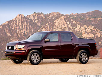 Mid-size Truck: Honda Ridgeline