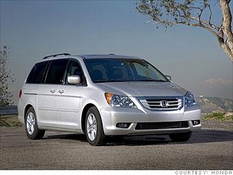 Minivan: Honda Odyssey