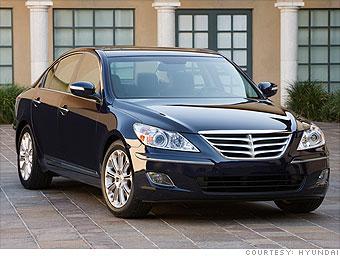 Mid-size Luxury: Hyundai Genesis