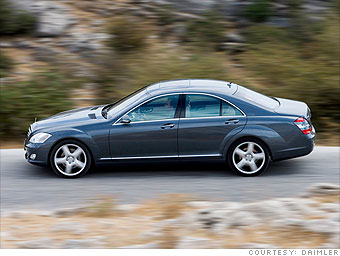 Large Luxury: Mercedes-Benz S-class