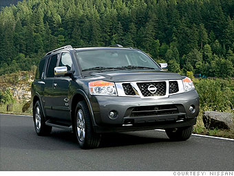 Large SUV: Nissan Armada