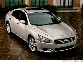 Large Car: Nissan Maxima