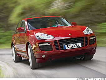 Mid-size Luxury SUV:  Porsche Cayenne