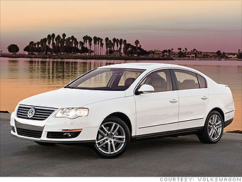 Mid-size Car: Volkswagen Passat