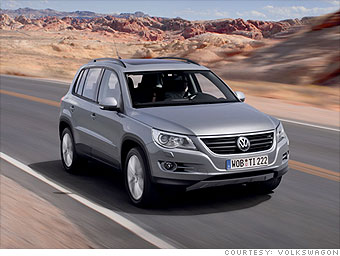 Compact SUV: Volkswagen Tiguan