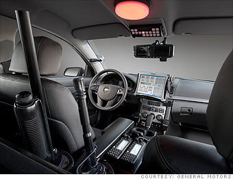 gm unveils cops only chevy inside job 2. Black Bedroom Furniture Sets. Home Design Ideas