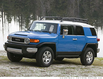 Midsized SUV: Toyota  FJ Cruiser