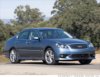 Luxury car: Infiniti M35