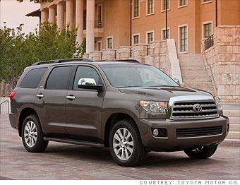 Large SUV: Toyota Sequoia