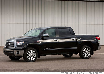 Pick-up truck: Toyota Tundra (V6)