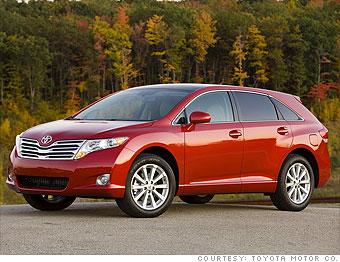 Van/Wagon: Toyota Venza (4-cyl.)