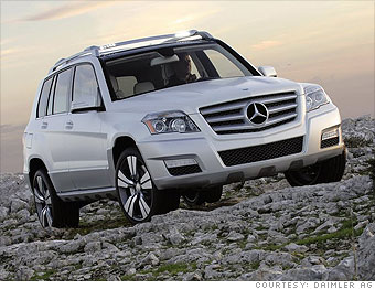 Luxury SUV: Mercedes-Benz GLK