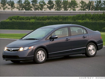 Small car: Honda Civic Hybrid