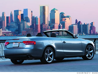 Sporty car: Audi A5 Cabriolet