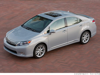 Luxury car: Lexus HS 250h