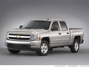 6 most efficient cars and trucks full size truck chevrolet silverado hybrid 6. Black Bedroom Furniture Sets. Home Design Ideas