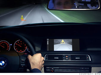 BMW: Night vision