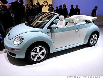 la auto show volkswagen beetle final edition  cnnmoneycom