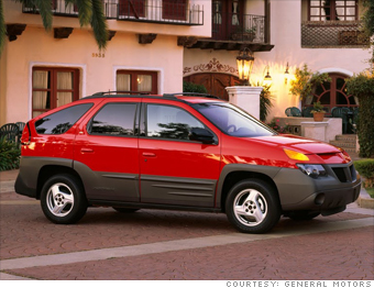 2001 Pontiac Aztek Recalls Autos Post
